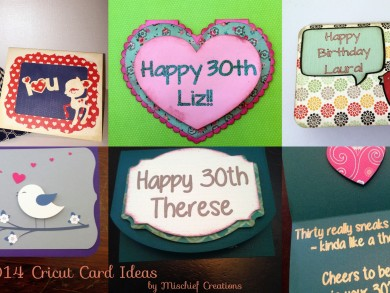 Cricut Card Ideas