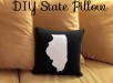 DIY State Pillow Tutorial