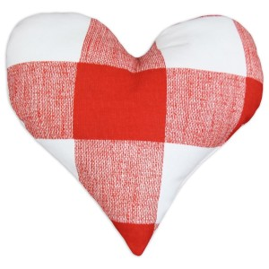 Heart Shaped Valentine's Day Pillow Idea