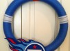 Tennessee Titans Football Yarn Wreath