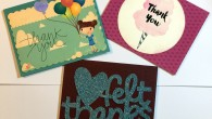 5 Minute Handmade Thank You Cards using Cricut Explore