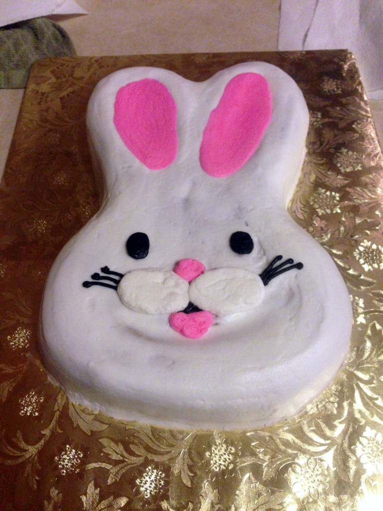 Hop to it with this Bunny Easter Cake Idea