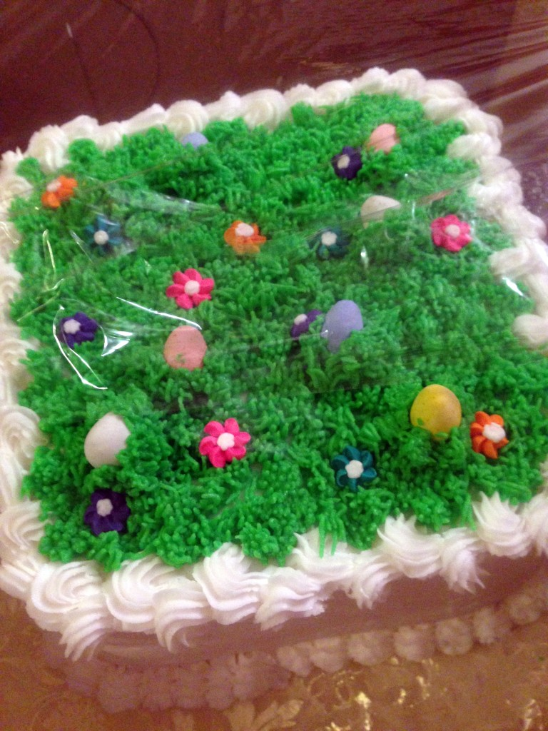Go find the Easter Eggs in this Cake!
